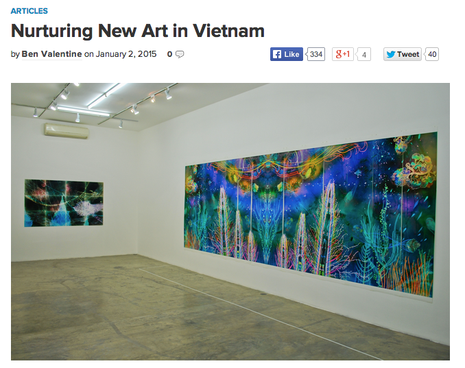 Nurturing New Art in Vietnam on HyperAllergic